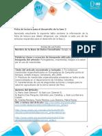 Ficha de Los Riesgos a La Salud Por El Uso de Insecticidas