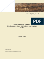 Autochnous Aryas - Evidence from Old Indian and Iranian Texts.pdf