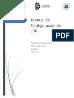 Manual de configuracion de JDK