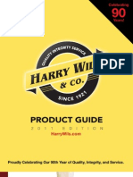 Harry Wils Product Guide 2011
