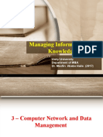 3 and 4 - Computer Networking and Mangmnet and Integrating Computer to Corporate IS.ppt