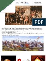 ABSOLUTISMO INGLÊS - Revoluções Inglesas