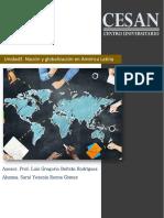 Unidad 3. Nación y globalización en américa Latina