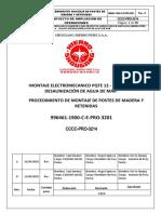 996461-1900-C-E-PRO-3201 - PROCEDIMIENTO MONTAJE POSTE DE MADERA RETENIDAS