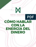Como hablar con la energía del dinero. Natali Navarro, coach energética