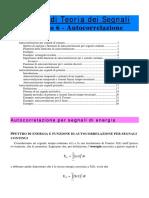 Autocorrelazione