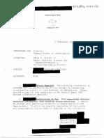 Ratcliffe - Declassified FBI Referral