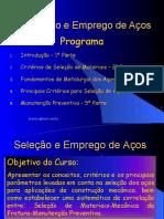 Seleção e Emprego de Aços_2005