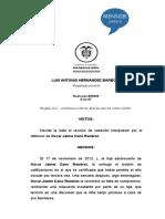 Sentencia VIF Rad 50899-20 Análisis del Conflicto-Derecho