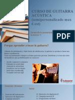 CURSO DE GUITARRA GRUPAL