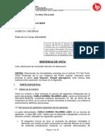 3. Desnaturalización de contrato de suplencia se renovó contrato pese a que titular a suplir renunció