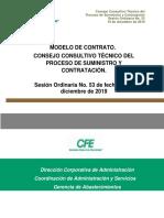 ANEXO 4 MODELO DE CONTRATO EN MATERIA DE BIENES