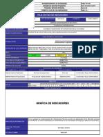 GC-F-006 Hoja de vida Indicadores  Gestion de Infraestructura Fisica