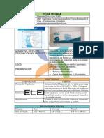 Ficha técnica tapabocas nacionales Elements Group
