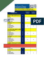 Rúbricas Evaluación de Proyectos Geotecnia Vias y Pavimentos
