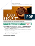 blog.forumias.com-Food Security in India An Analysis