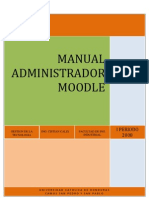 manual administrador moodle