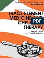 Trace element medicine