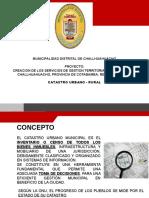 EXPOSICION CATASTRO URBANO Y RURAL