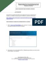 1. Activación licencias Estudiantes - Docentes 10.7.X
