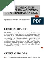TRASTORNO DE DÉFICIT DE ATENCIÓN E HIPERACTIVIDAD