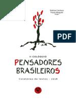 Pensadores Brasileiros Margutti Cardoso