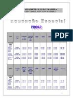 Educação Especial - PIDDAR
