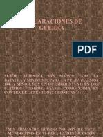 DECLARACIONES DE GUERRA