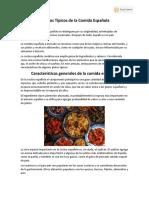Típicos-de-la-Comida-Española