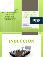 DIAPO MANUAL DE INDUCCIÓN Y CAPACITACIÓN