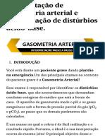 Interpretação de gasometria arterial e identificação de distúrbios ácido-base. - Sanar Medicina.pdf