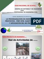 ING. PROYECTOS-PERT-CPM