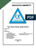 SOY FELIZ CON EL BUEN TRATO GRUPO 2