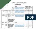 Calendario de Talleres por Zoom Instituto de Investigacion (Septiembre 2...