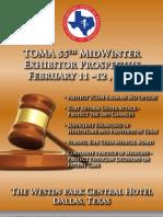 2011 TOMA Midwinter Prospectus