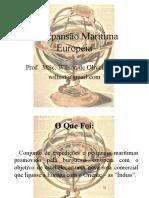 A Expansão Marítima Européia