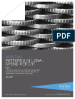 Acritas - Patterns in Legal Spend Report 2017