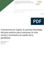 Coronavirus en Japón_ la inusual estrategia del país asiático para continuar la vida social y económica en medio de la pandemia - BBC News Mundo