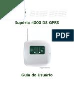 Guia de Usuário Supéria 4000 D8 GPRS Internet