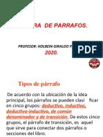 LECTURA DE PARRAFOS