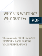 WHY 6 IN WRITING(GRA version)