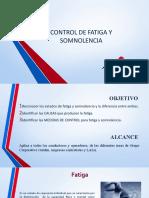 FATIGA Y SOMNOLENCIA GOLDEN S.A..pptx