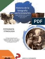 Historia de la fotografía (1)