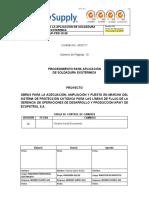 EJP-PRO-15 APLICACION DE SOLDADURA EXOTERMICA