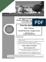 GMARC 2011 Registration Form