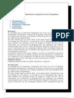 BENEFICIOS ERP (ENTERPRISE RESOURCE PLANNING)