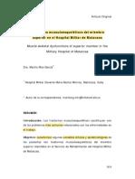 5. TRASTORNOS MUSCULOESQUELÉTICOS DEL MIEMBRO
