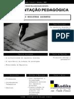 DOCUMENTAÇÃO PEDAGÓGICA E OS REGISTROS DOCENTES