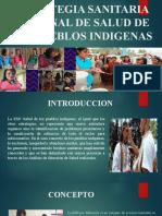 ESTRATEGIA SANITARIA NACIONAL DE SALUD DE LOS PUEBLOS
