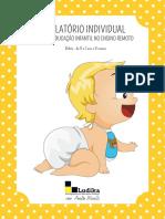 EXEMPLO DE RELATÓRIO INDIVIDUAL - Bebês